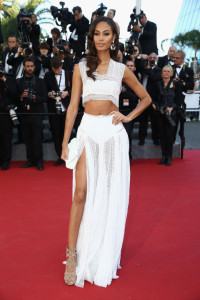 Joan Smalls in Alaïa