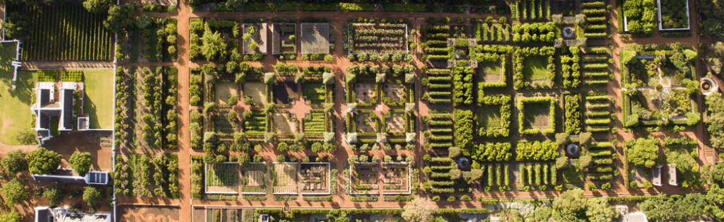 2.Babylonstoren great garden from drone copy